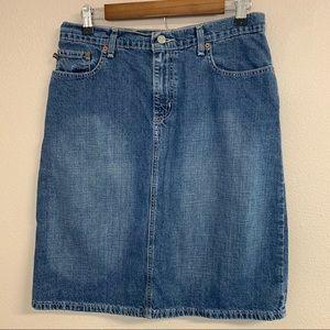 Polo Ralph Lauren vintage denim skirt